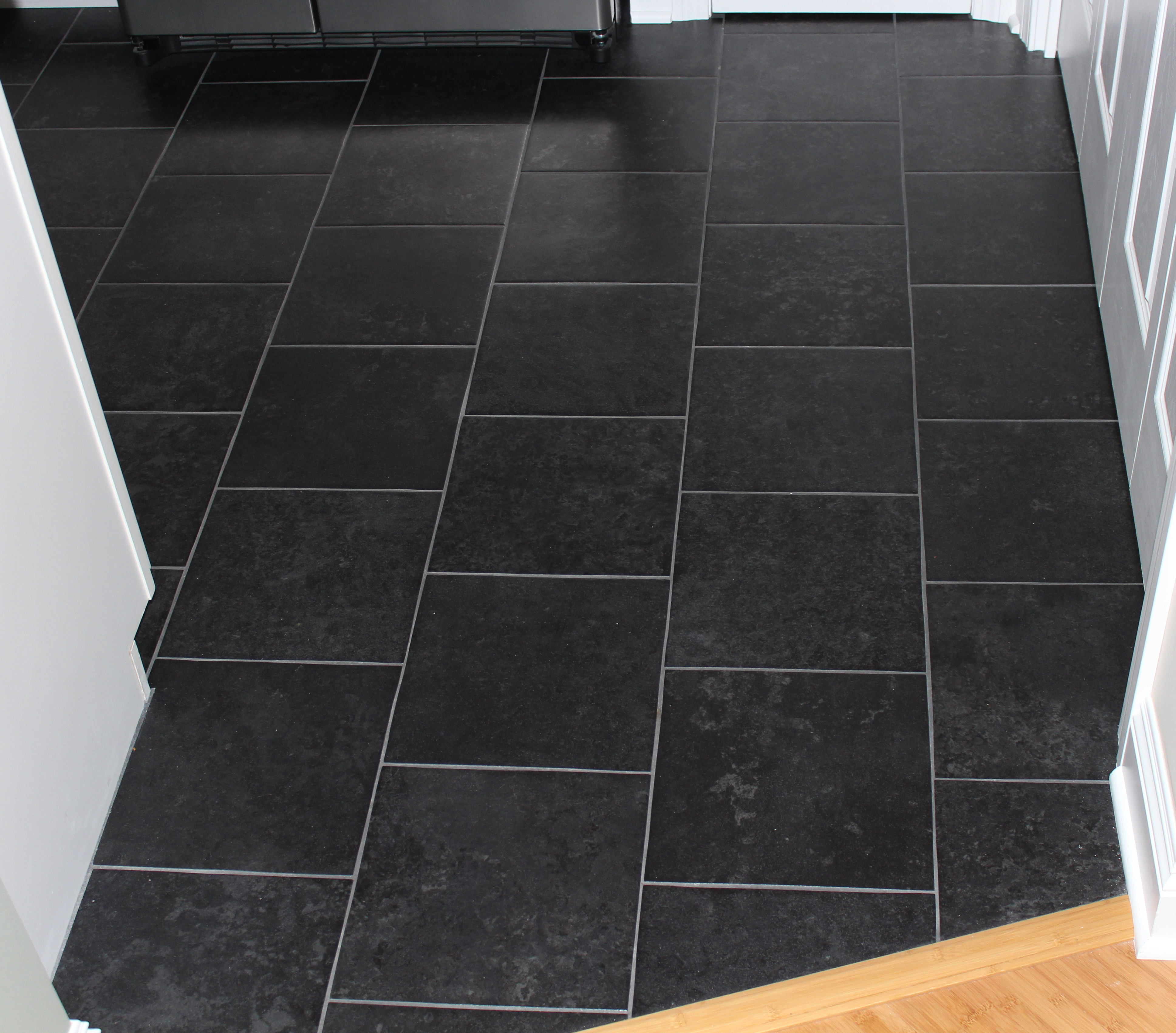 Porcelain Tiles For Kitchen Floors Black Porcelain Tile Floorjpg