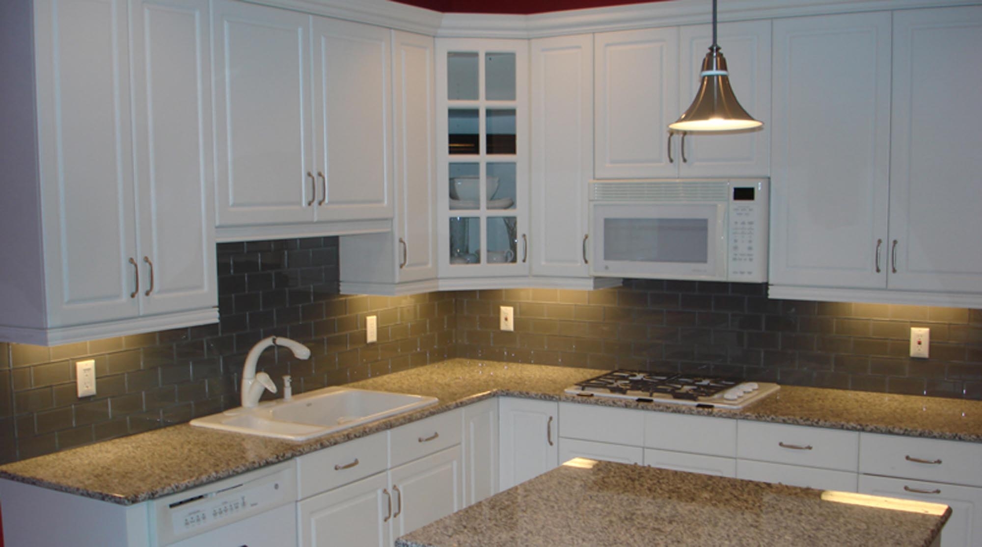 gray medium clear glass kitchen backsplash new jersey custom tile