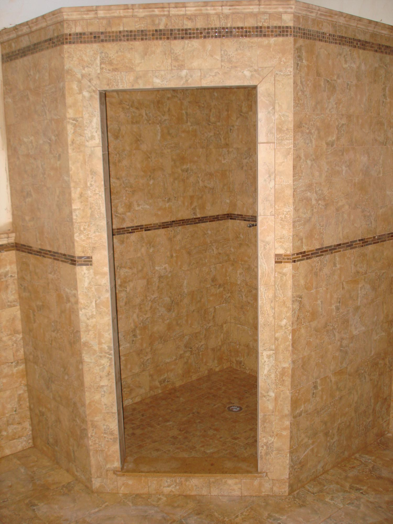 New Master Bath Tile Shower New Jersey Custom Tile