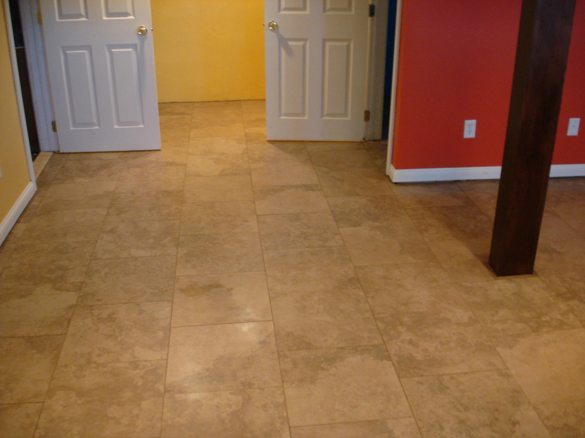 Porcelain Basement Tile Floor New Jersey Custom Tile