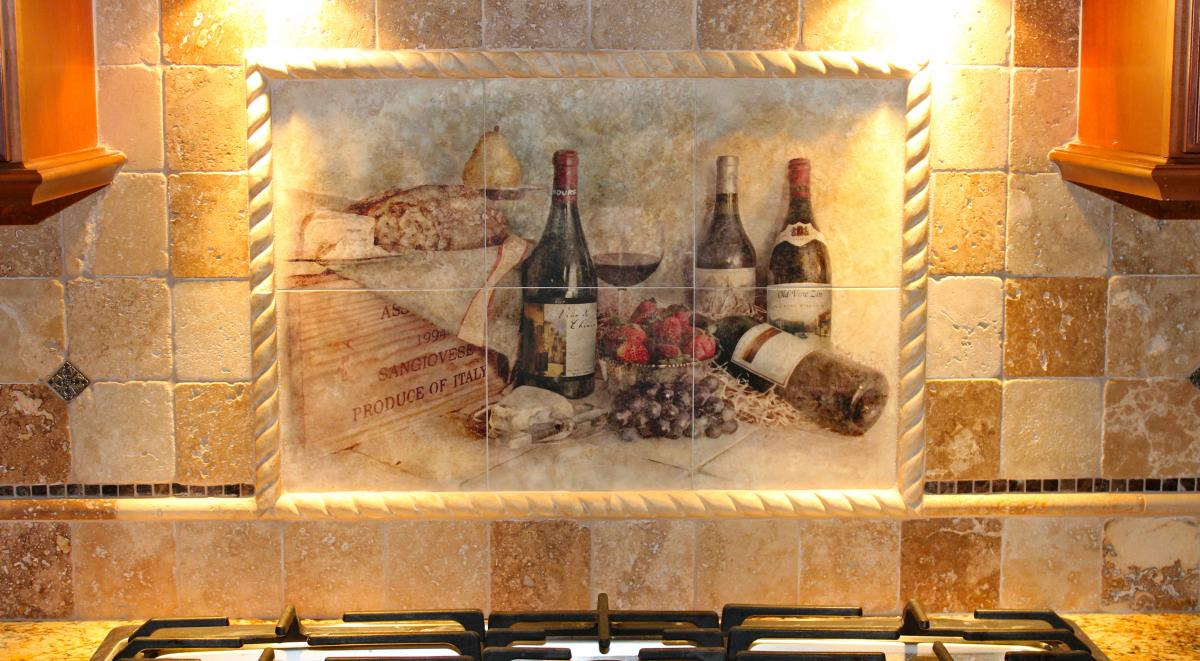 Backsplash tile mural new jersey custom tile for Custom mural tiles
