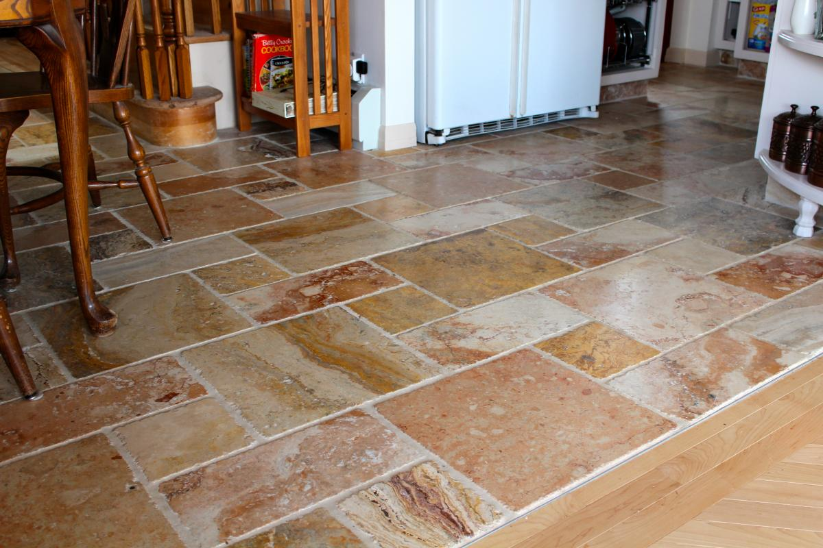 Kitchen floor marble | New Jersey Custom Tile