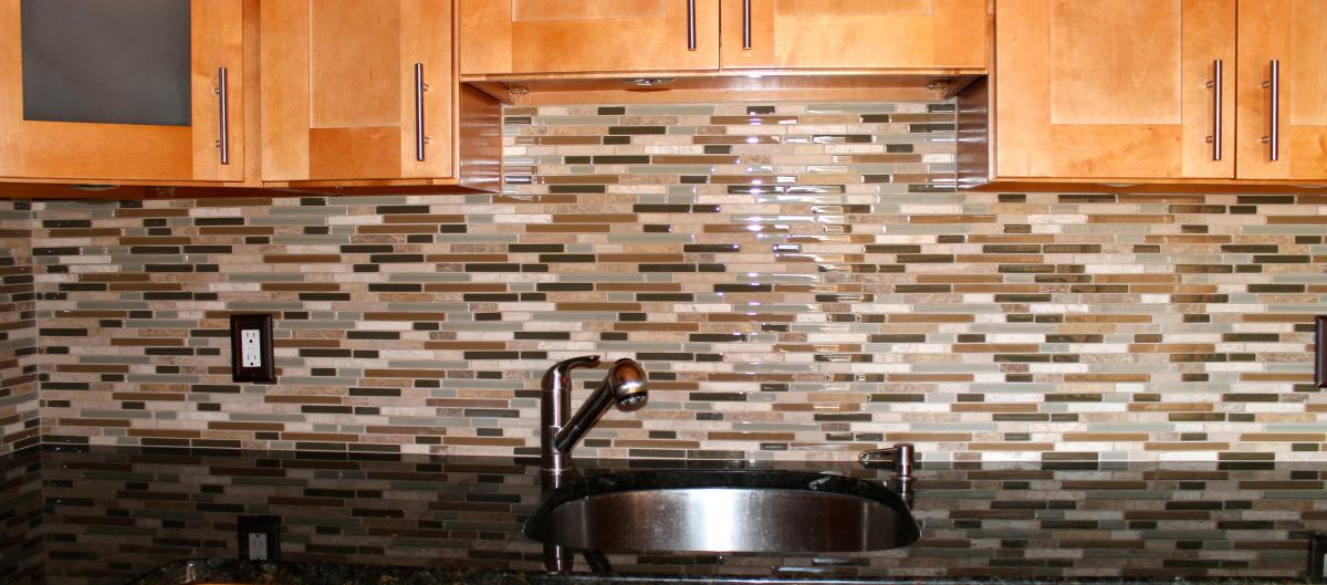 How To Install Glass Tile Backsplash In Kitchen Video