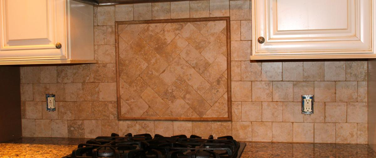 Tumbled stone backsplash images Stone backsplash tile