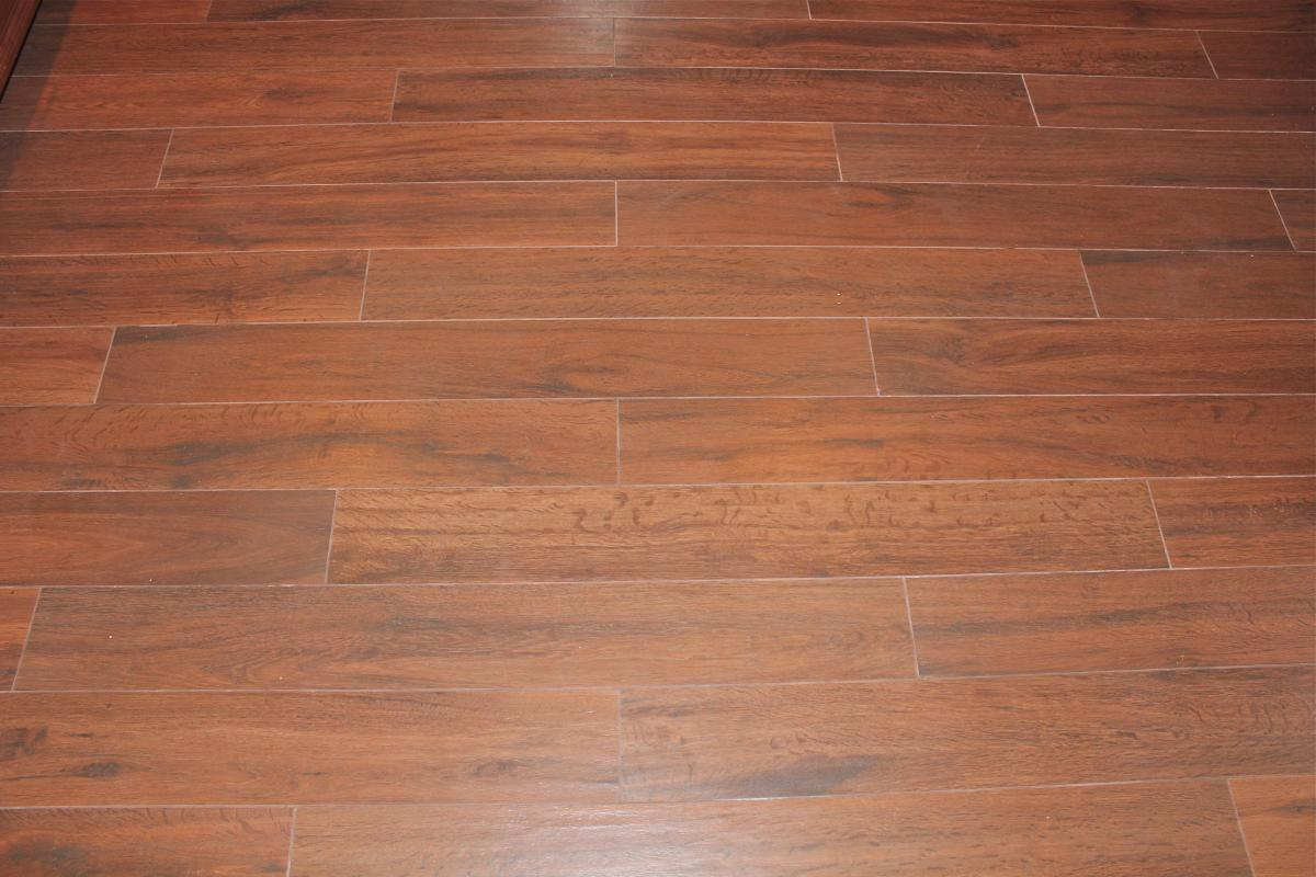 Wood Tile Kitchen Floor New Jersey Custom