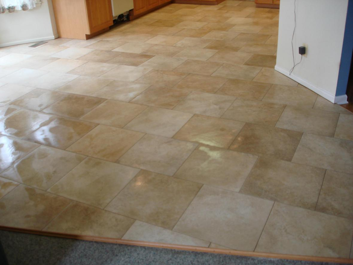 Porcelain kitchen tile floor new jersey custom tile for New kitchen floor tiles