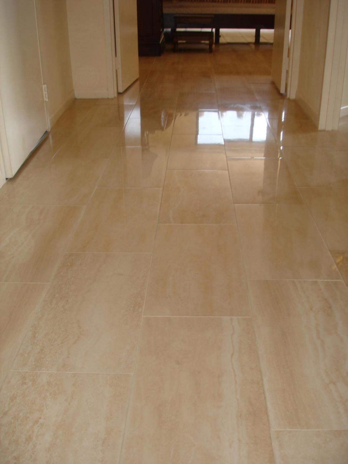 Porcelain Tile Floor In Hallway New Jersey Custom Tile