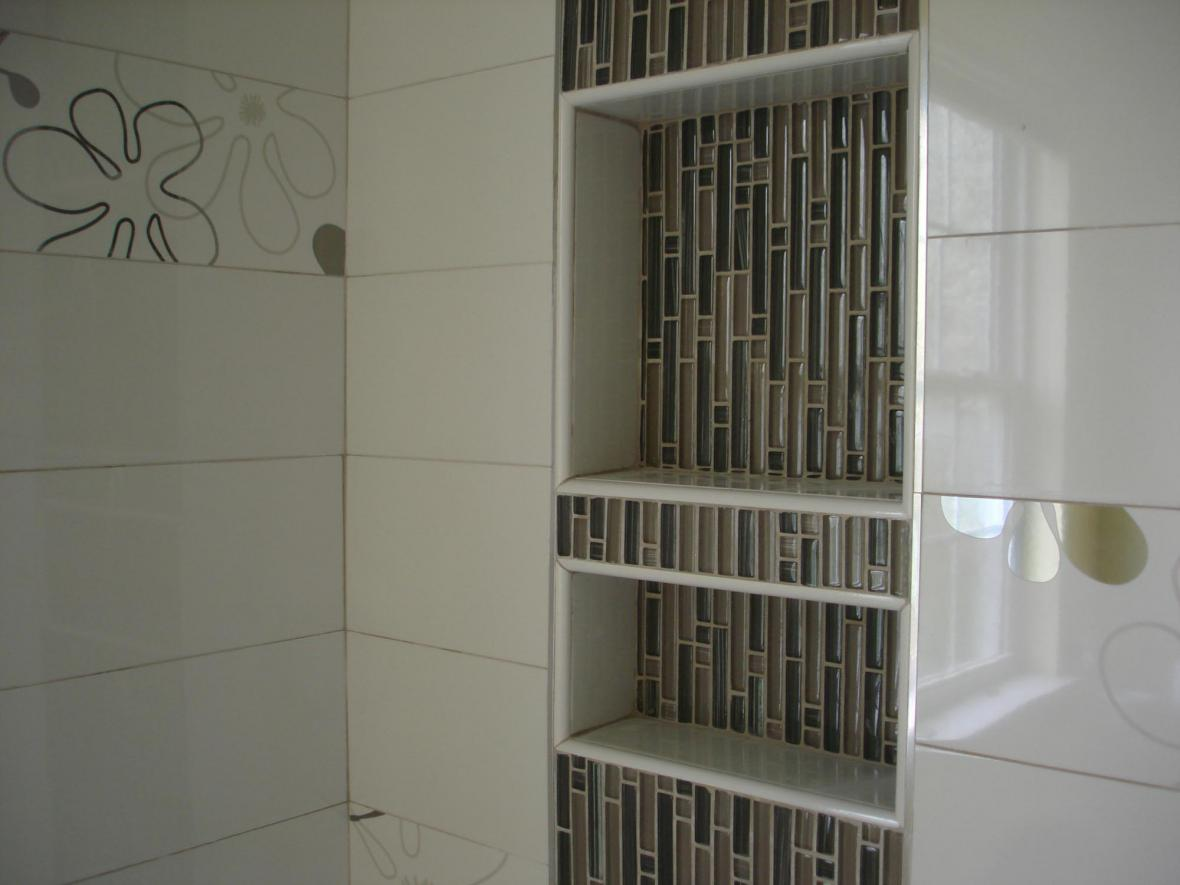 Shower glass Niche