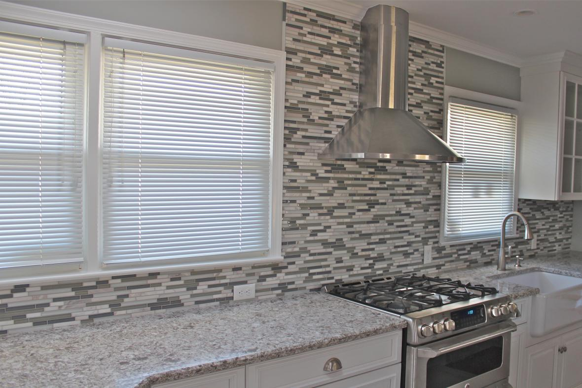 Kitchen backsplash new jersey custom tile - Mosaic kitchen ...