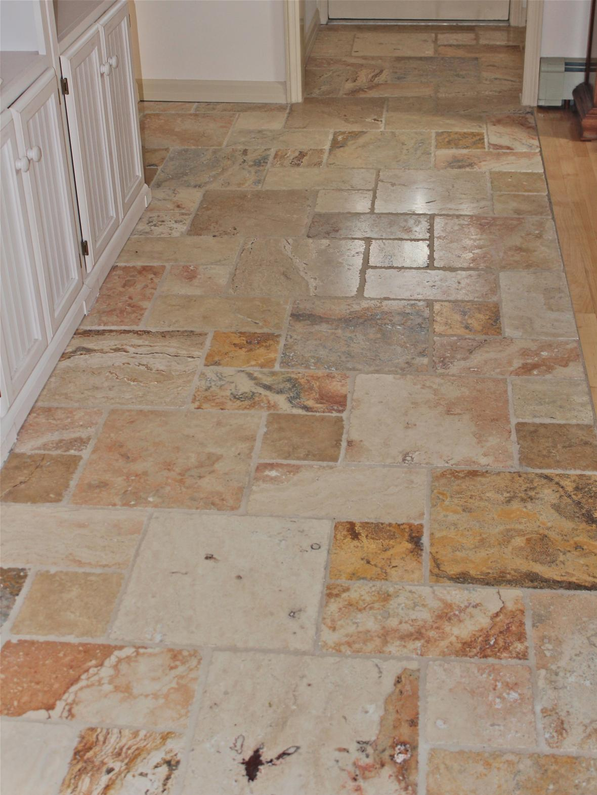 More About Kitchen Floor Marble Multiple Pattern Marble Tile Floor