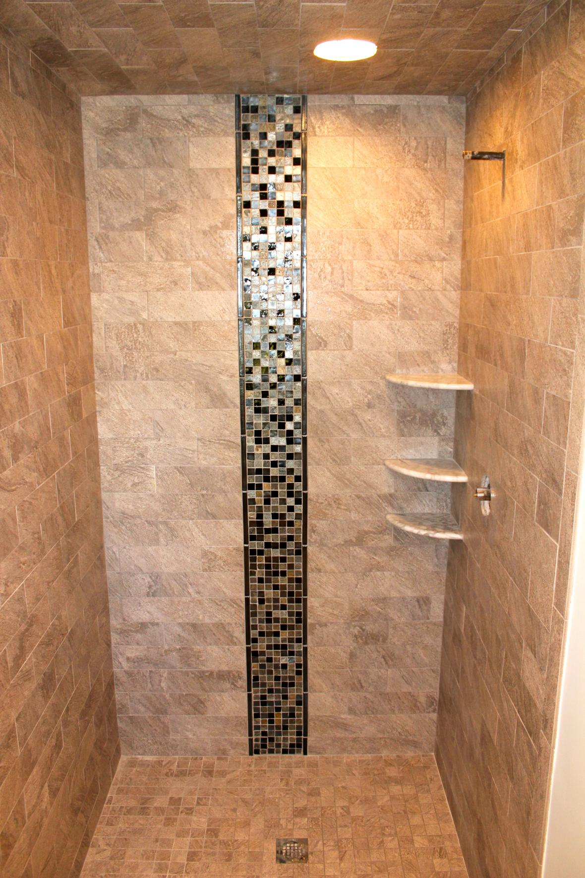 floor shop tile tiles accent products pebble product java tan accents description shower for