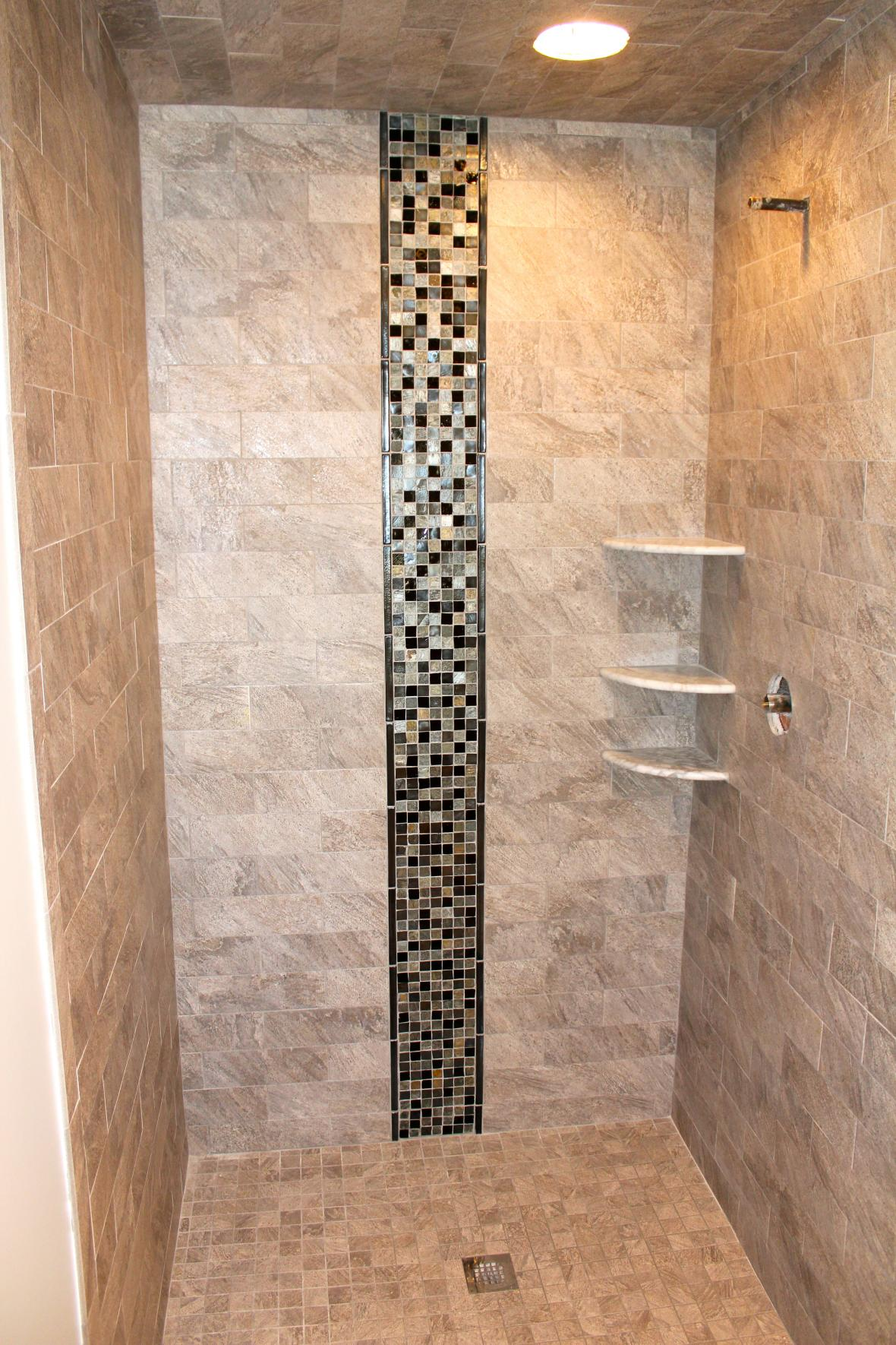 Porcelain Tile For Bathroom Shower Custom Porcelain Tile Shower. Tile shower design ideas