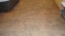 Porcelain basement floor tile