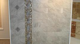 Porcelain tile display