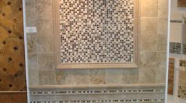 Wayne Tile wall display